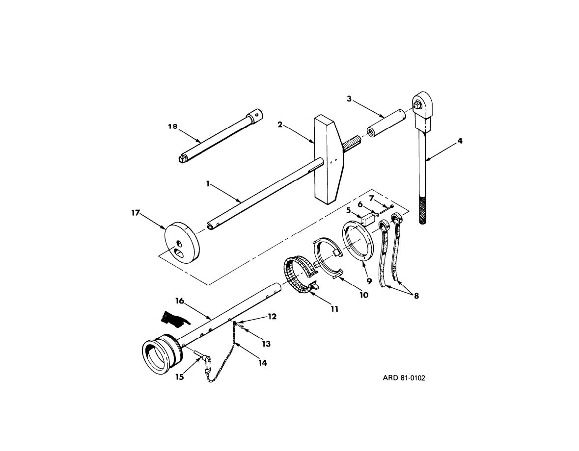 Figure C-1. Group 00 Extractor Assembly 9305465.