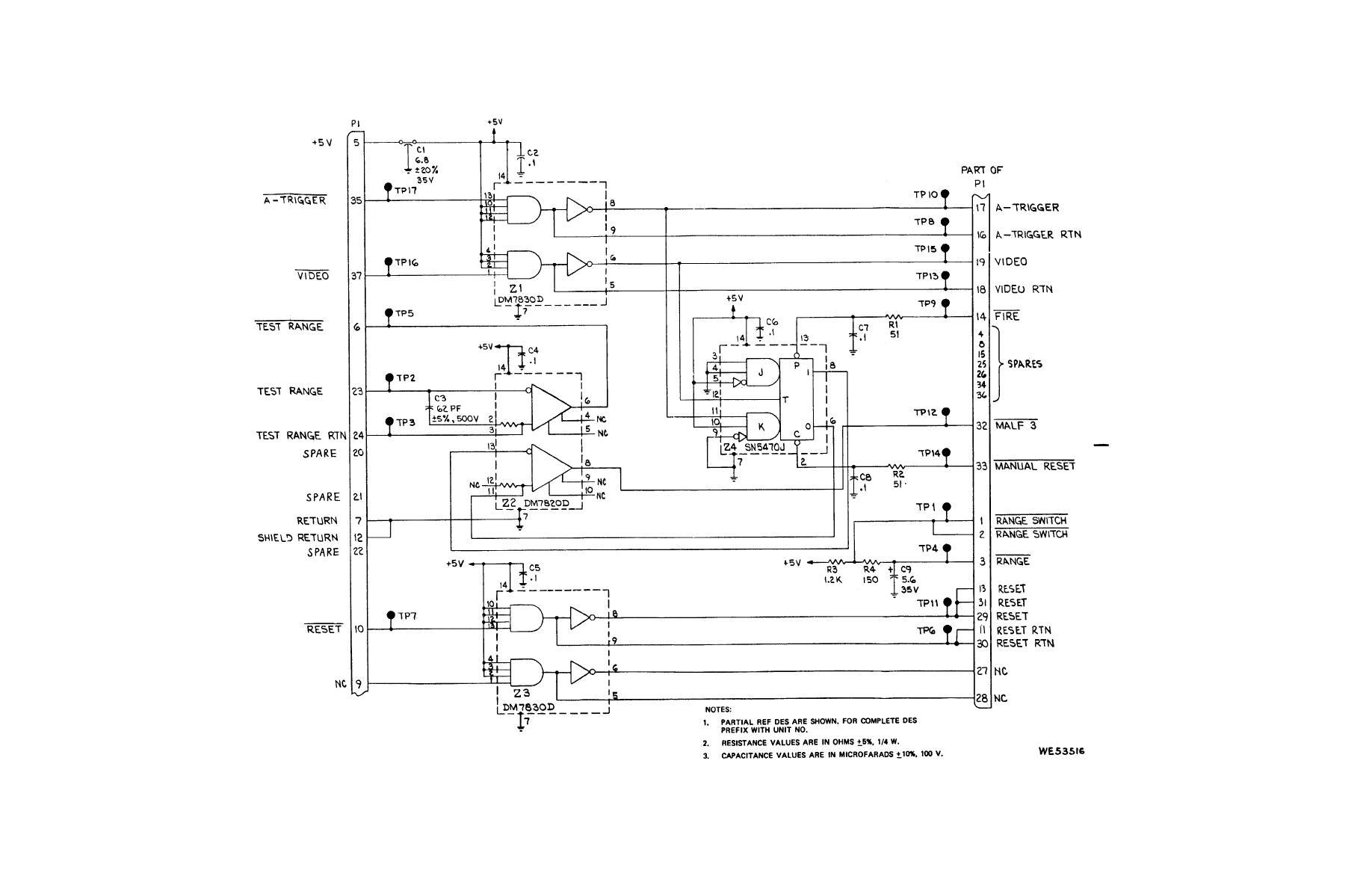 Figure 2-19. Malfunction 3 / buffer logic (A76A1