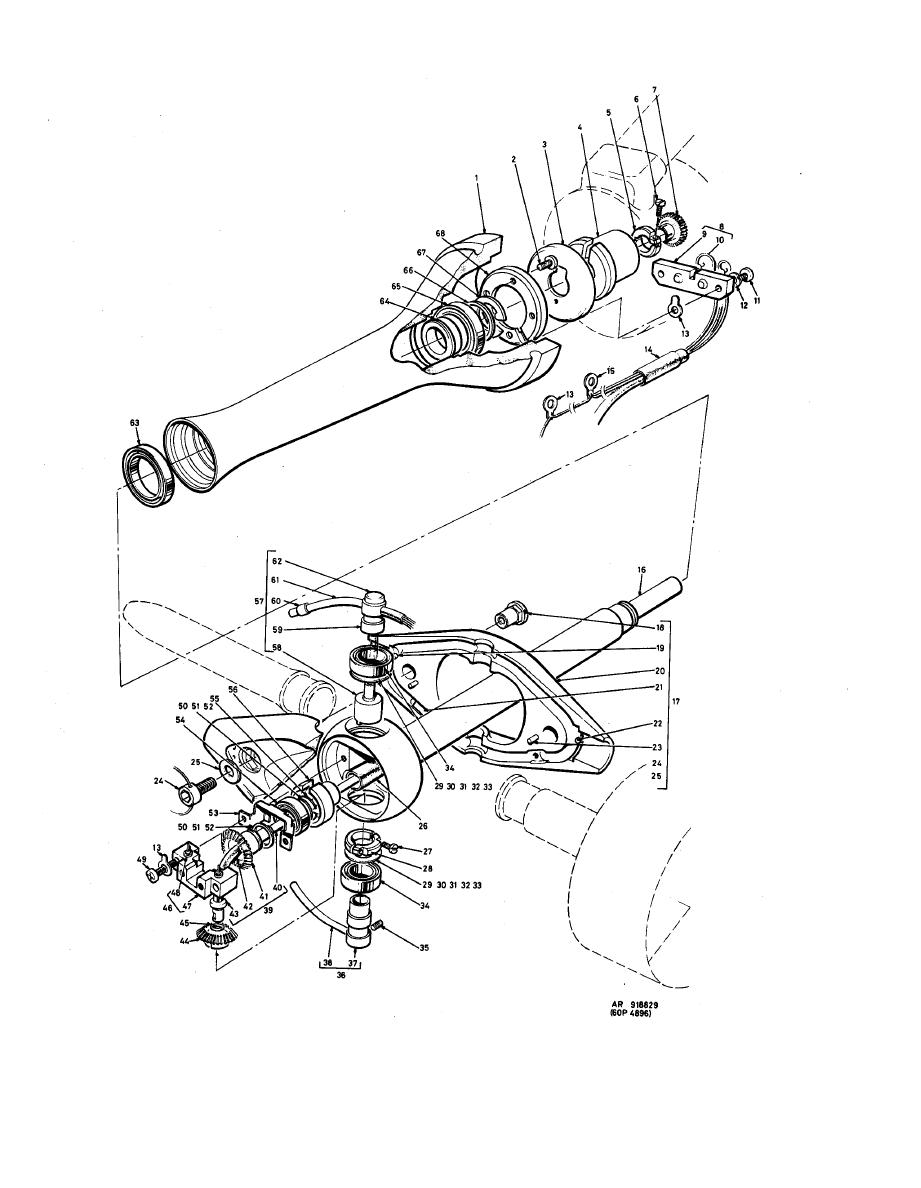 Figure E-16. Neck Assembly, 60093-012-02.