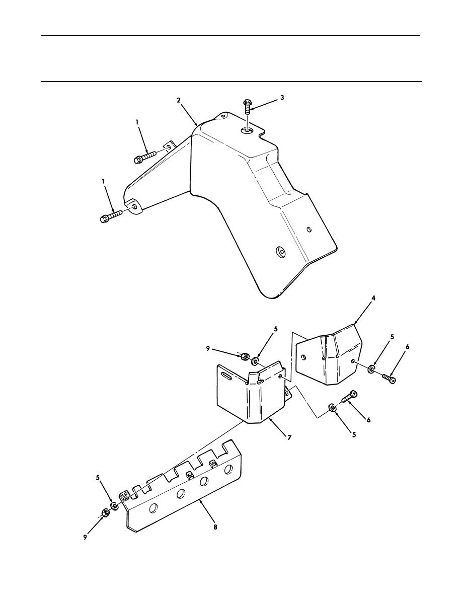 Figure 17. Exhaust Manifold Heat Shields