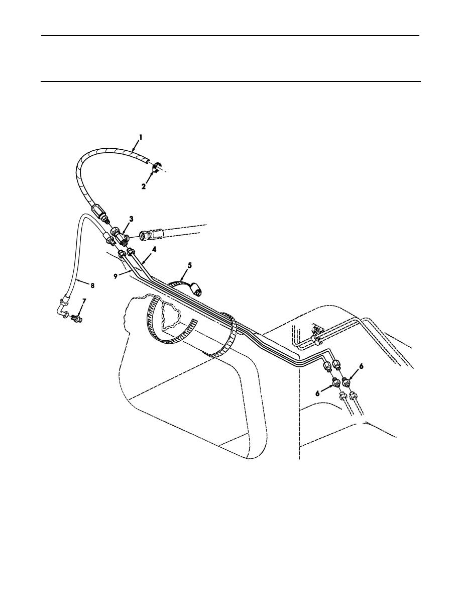 Figure 117E. Front Crossmember Rear Differential Oil