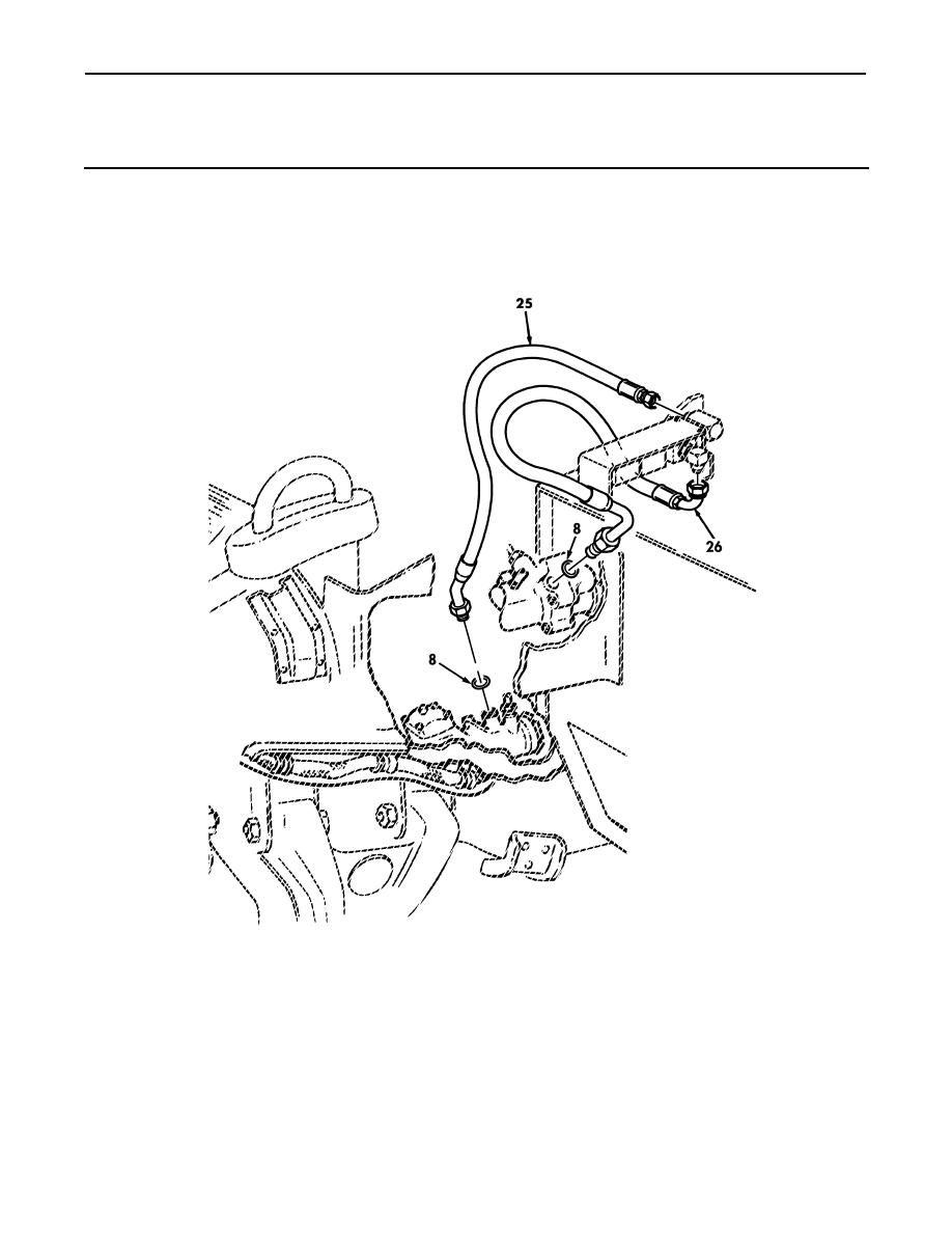 Figure 140. Power Steering Oil Cooler, Hydro-Boost, and