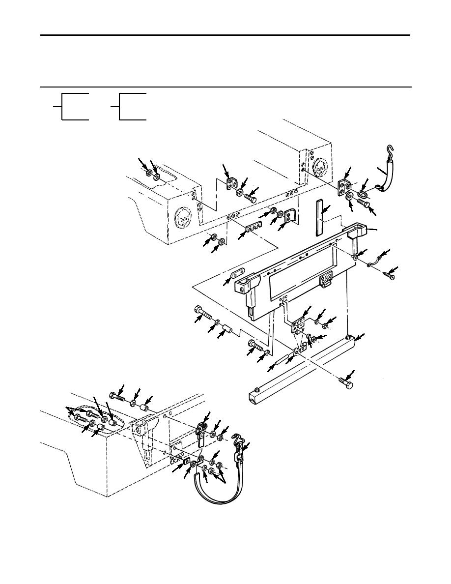 Figure 208. Tailgate Assembly and Related Parts.