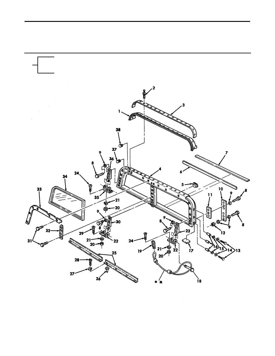 Figure 210A. Windshield Assembly, Ballistic.