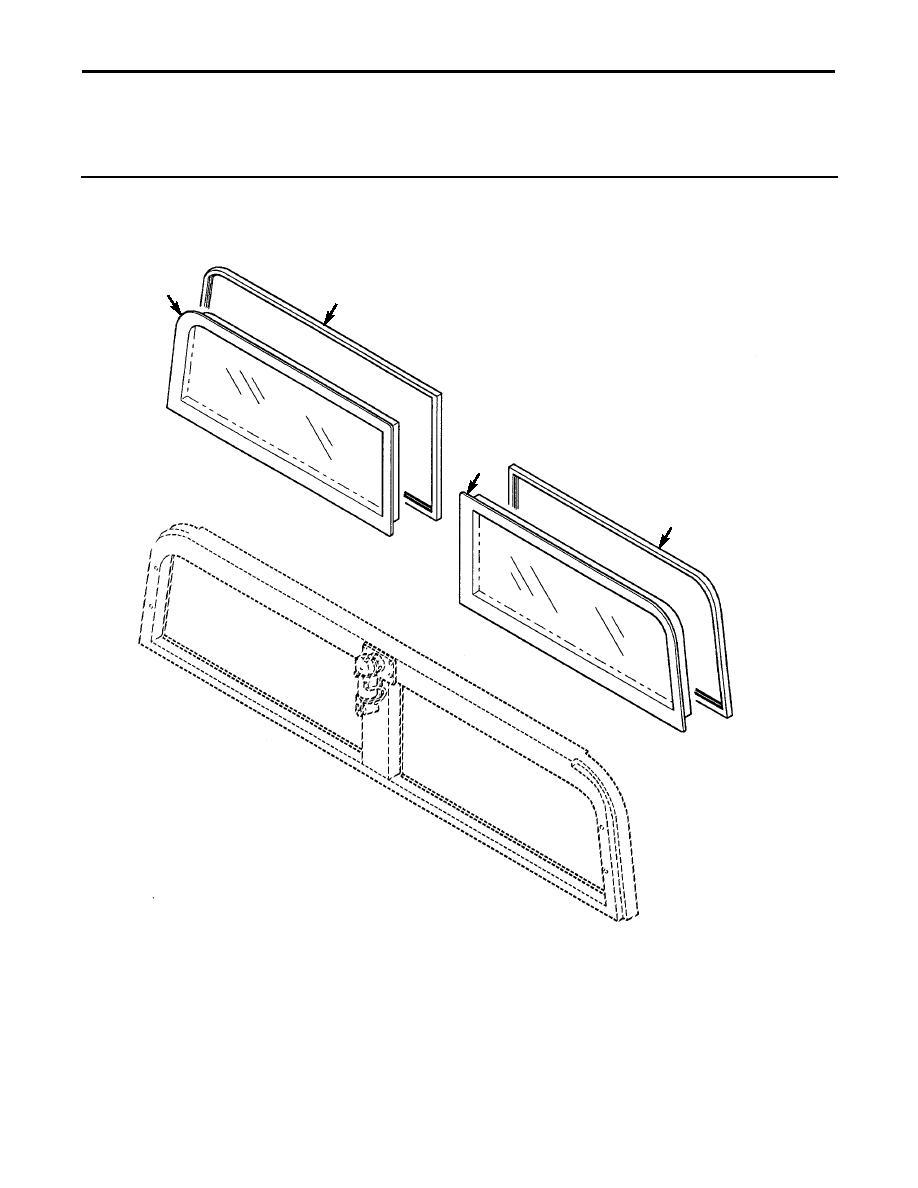 Figure 210B. Ballistic Windshield Assembly (Sheet 2 of 2).