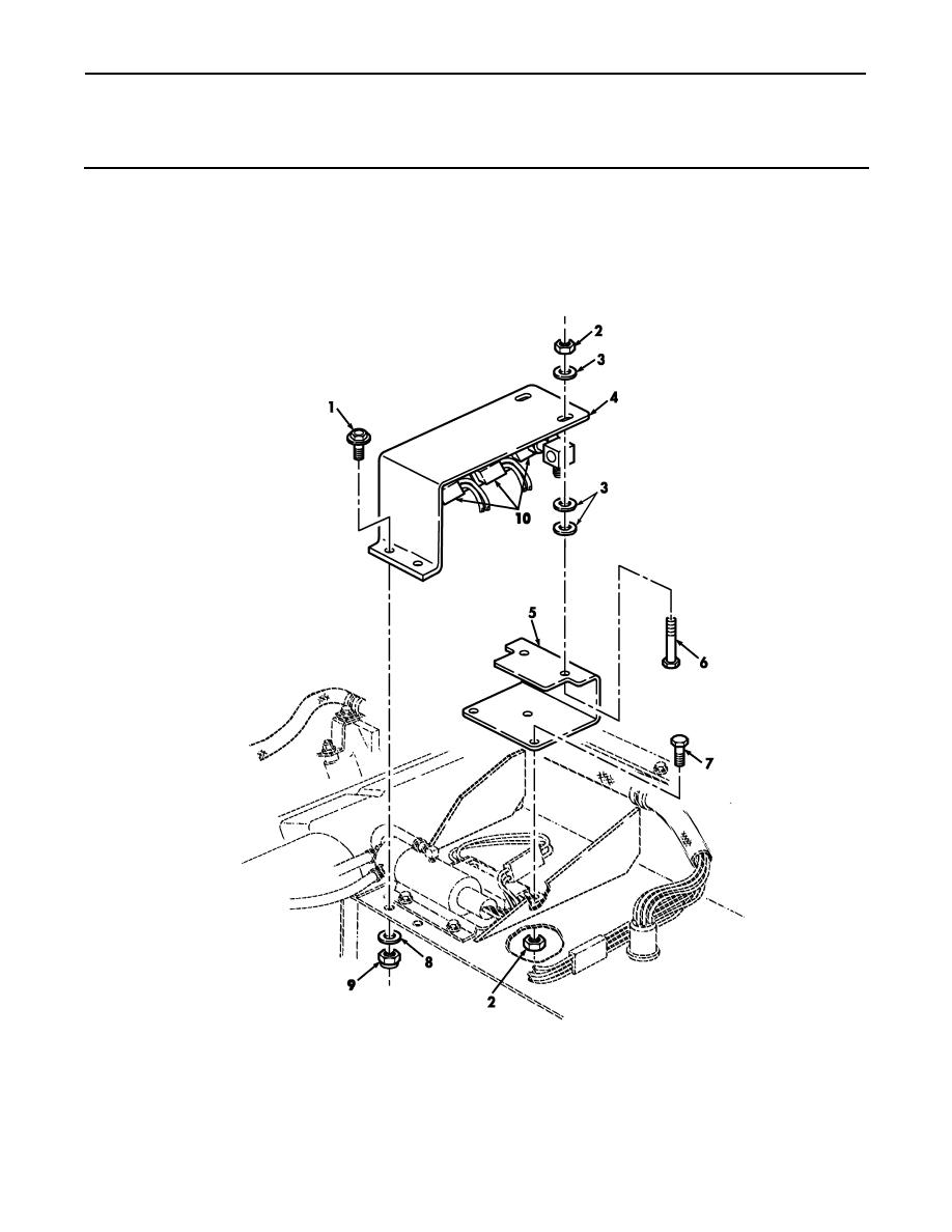 Figure 225G. Rear Hydraulic Winch Control Valve Assembly