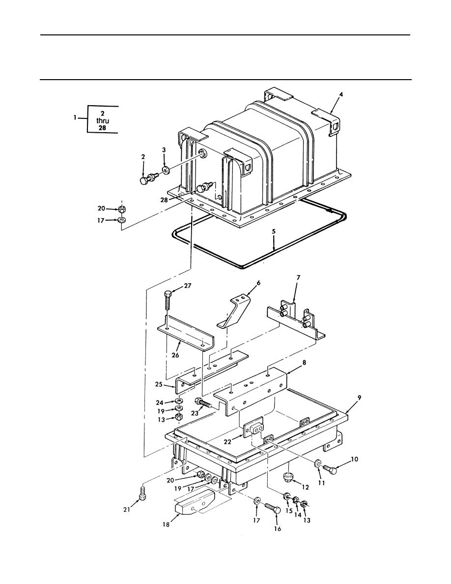 Figure 246. Engine Shipping Container Assembly.