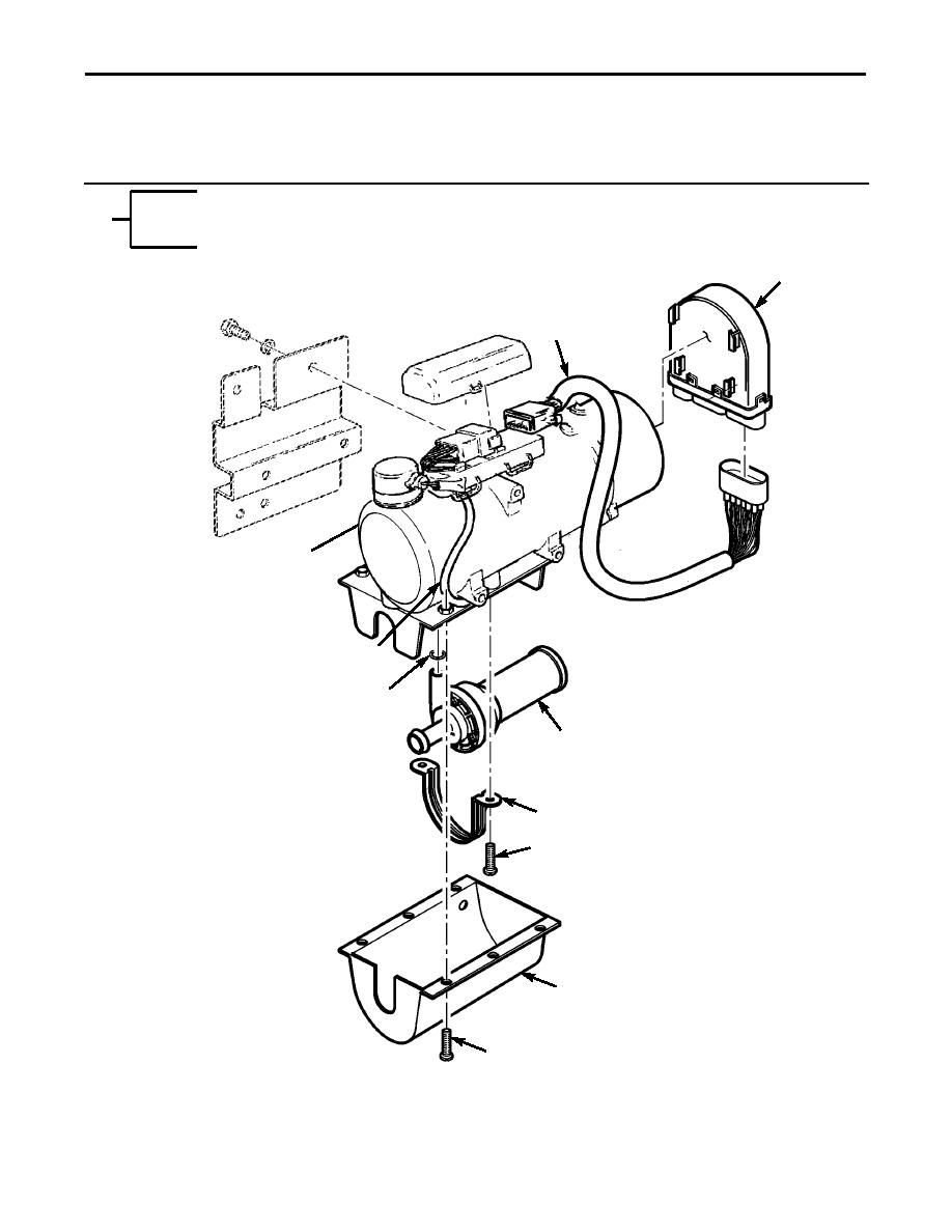 Figure 249A. Engine and Crew Compartment Heater and