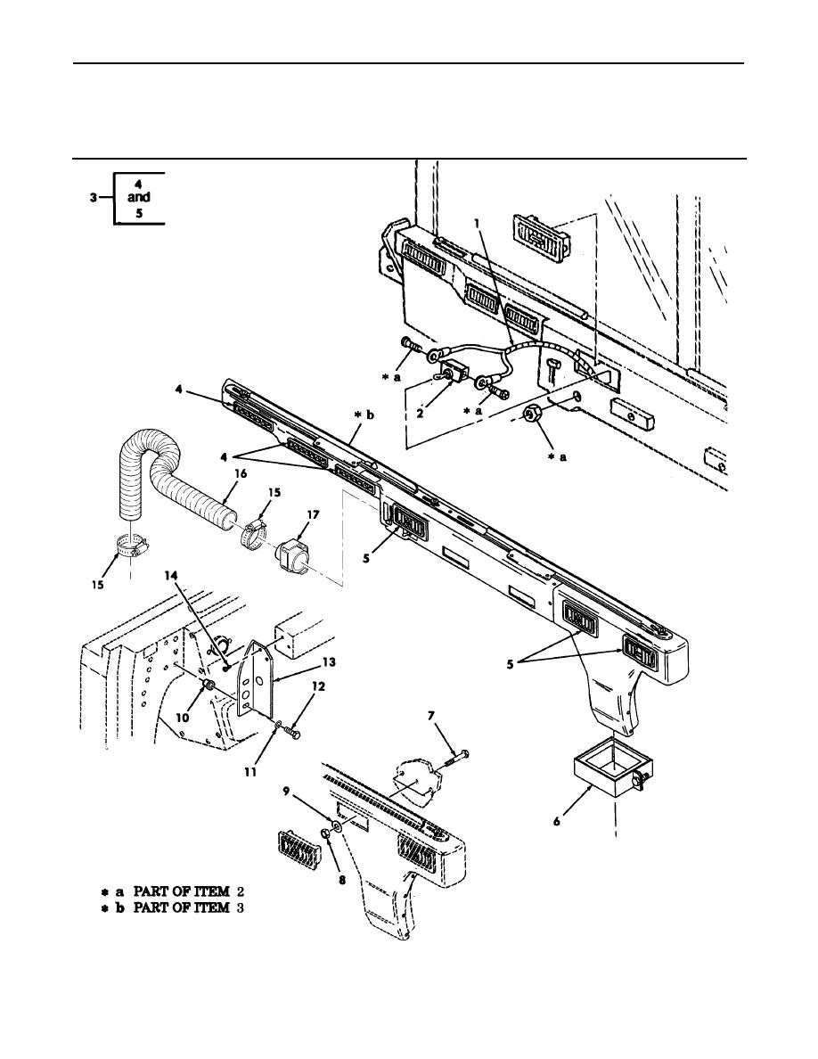 Figure 275. A/C Toggle Switch, Harness, and Air