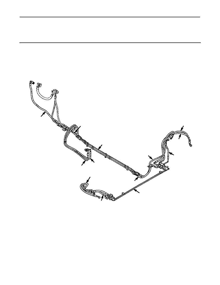 Figure 276E. A/C Hard Lines and Hoses, Four-Man Crew