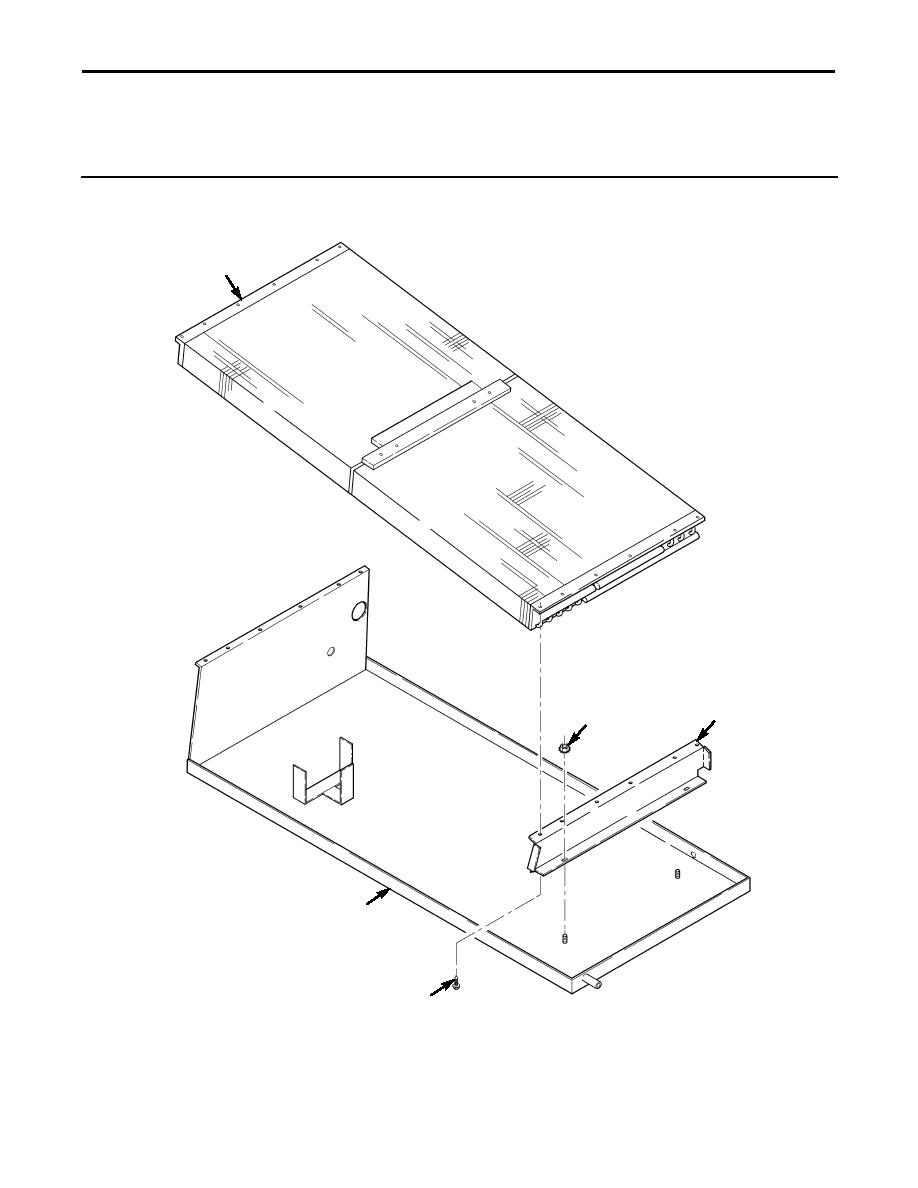 Figure 282. Rear A/C Condenser and Tray Assembly