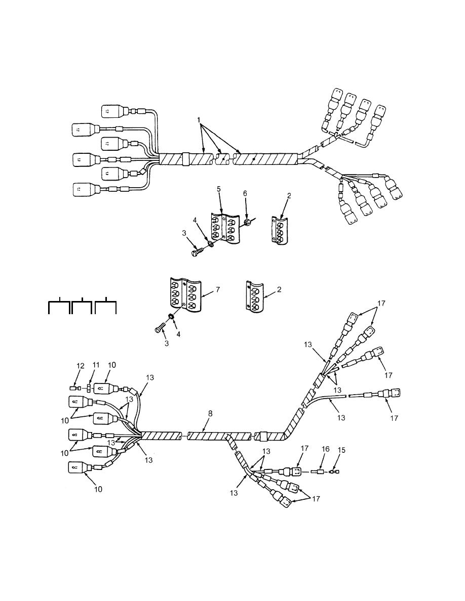 Figure 2. Chassis Wiring Harness (Composite Stoplight