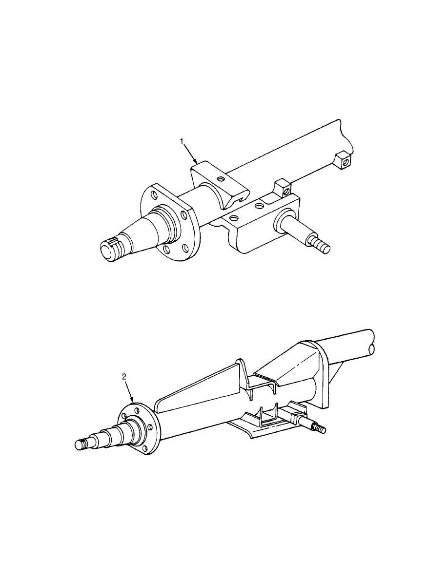 Figure 5. Rear Axle Assembly (Sheet 1 of 2)