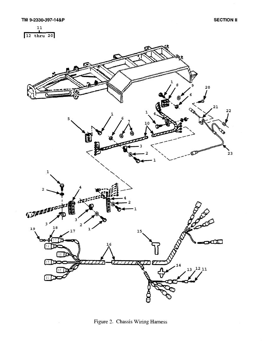 Figure 2. Chassis Wiring Harness