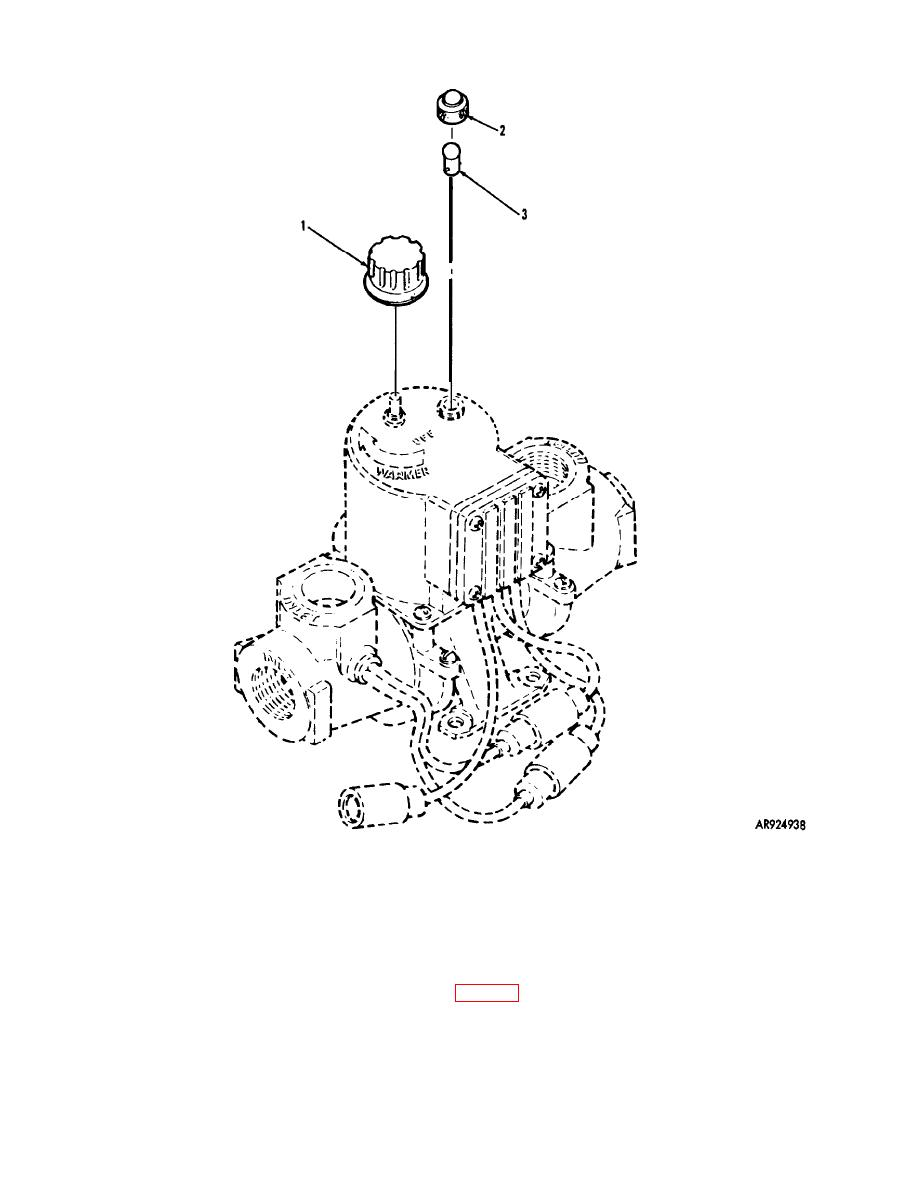 Figure 154. M3 HEATER ASSEMBLY COMPONENTS