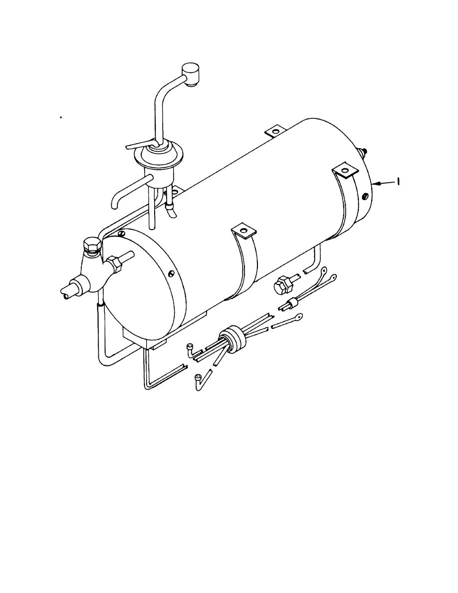 Figure 85. Hot Tank Assembly, Drinking Fountain