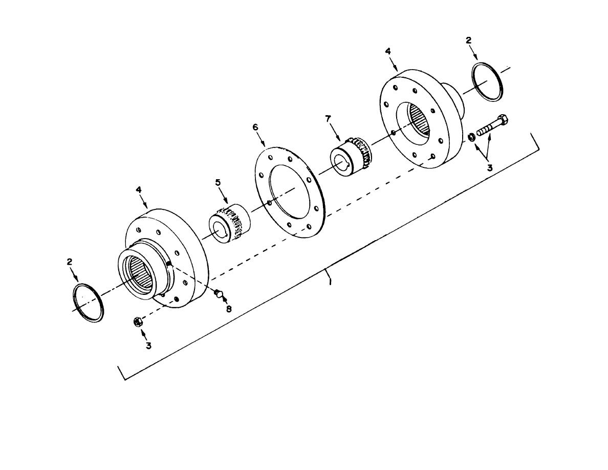 Figure 98 Coupling Reducer Winch Auxiliary Hoist
