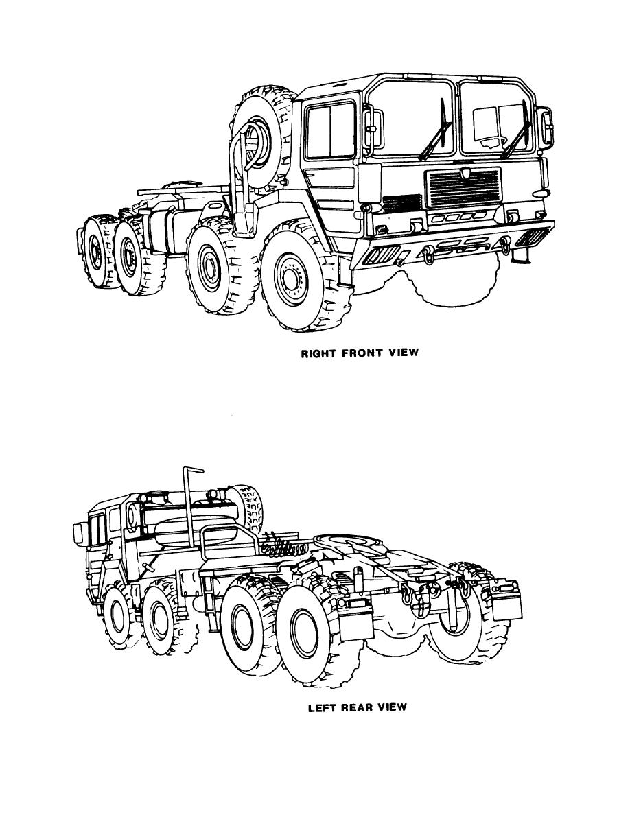 Figure 2-4. M1014 8x8 10-ton truck tractor