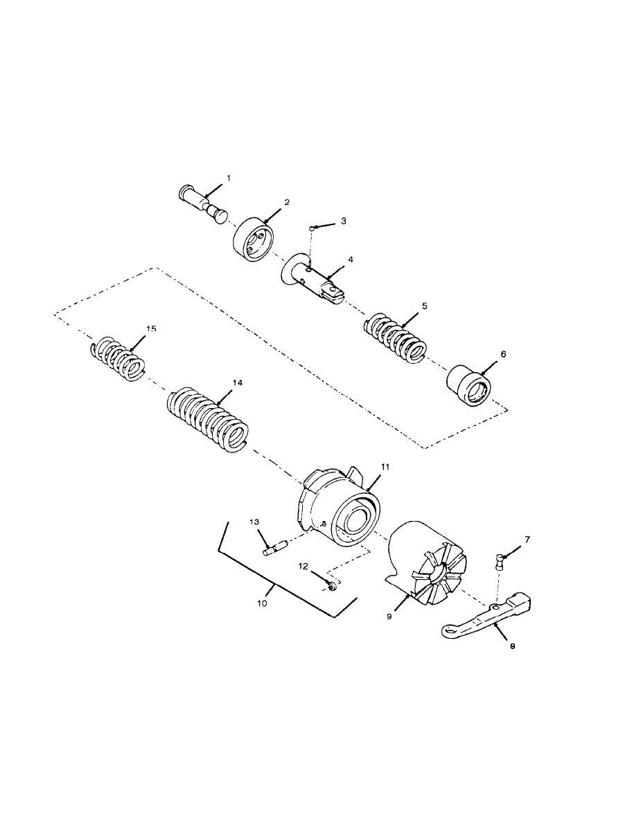 Figure 9. Firing Mechanism, Cannon, M49, 11580122
