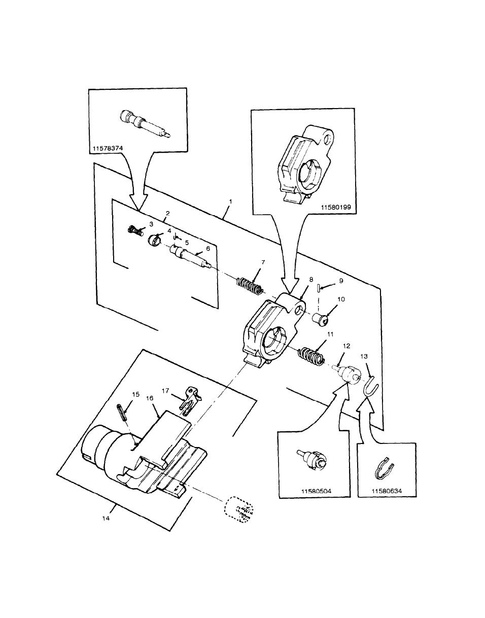 Figure 11. Block Assembly, 11577710 or 11580222; Follower