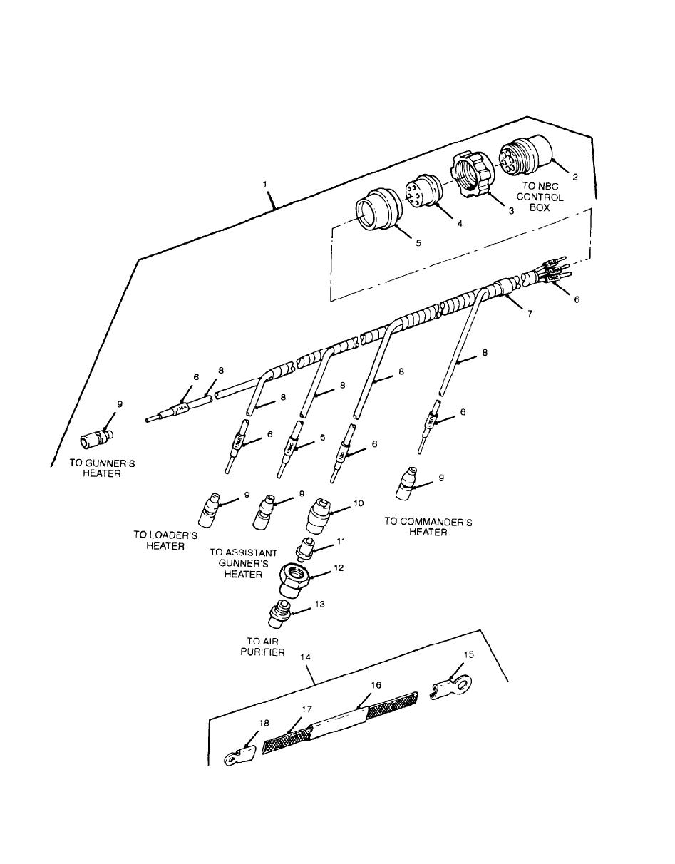 Figure 75. Wiring harness, Branched 9399142