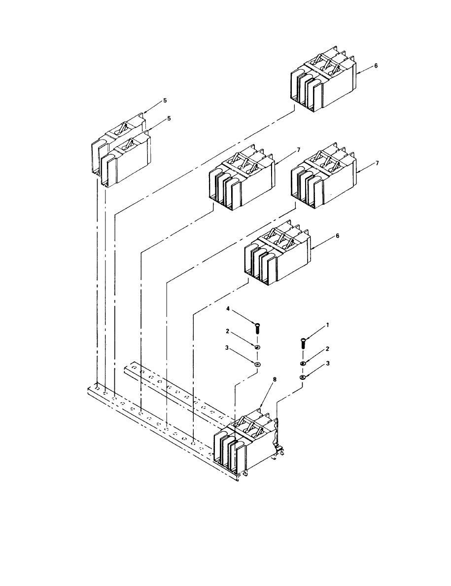 Figure 31. M100 A/P Feeder Center Circuit Breaker Assembly