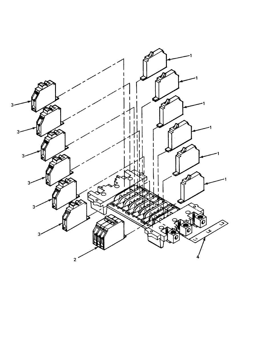 Figure 41. M 4 0 Distribution Center Circuit Breaker Assembly
