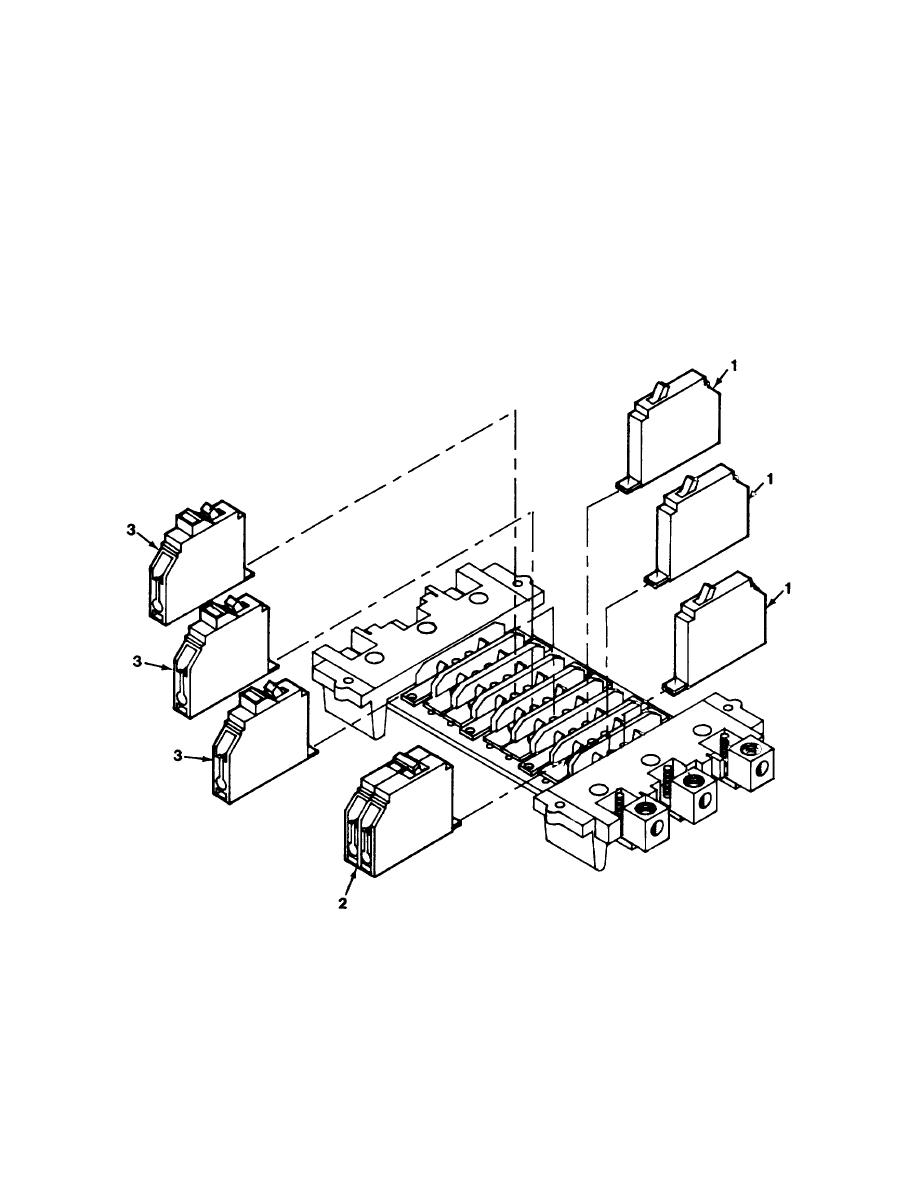 Figure 60. M 6 0 Distribution Center Circuit Breaker Assembly