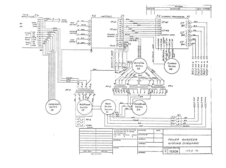 Power Analyzer Wiring Diagram