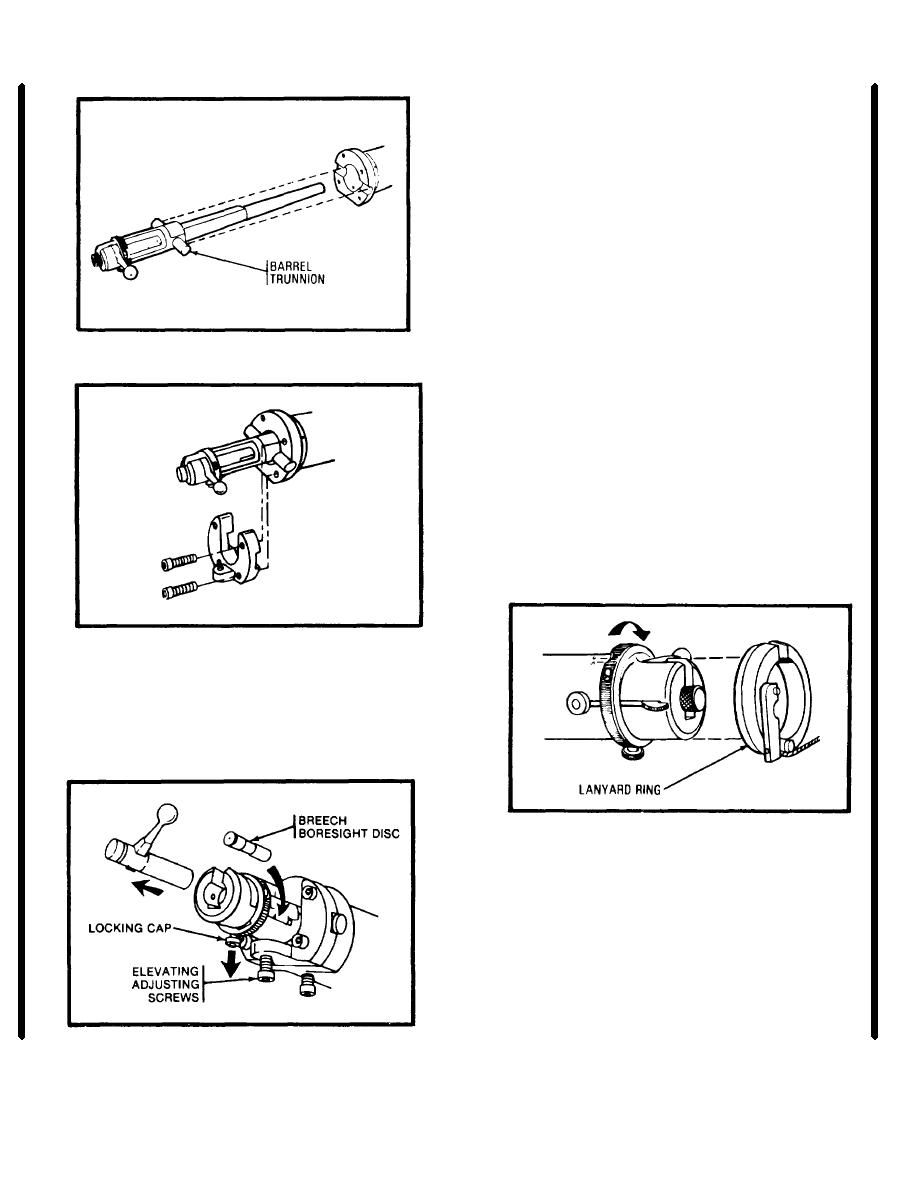 Installation Instructions for the M198 Howitzer (cont)