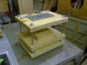 Vertical Printing Press