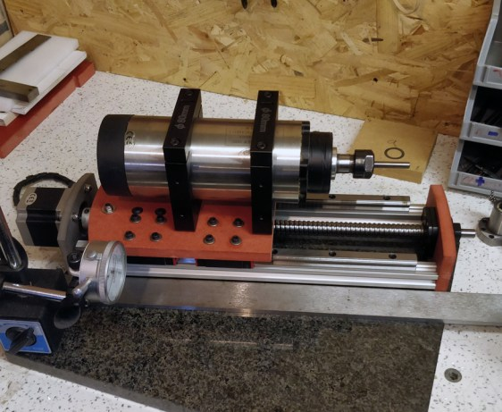 Z Axis Assembly Spindle Setting and Axis Tramming
