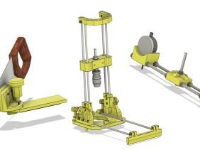 Three 3D Printed Tools / Sawing, Squaring & Drilling Jigs