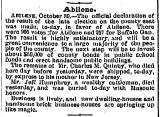 Galveston Weekly News November 1 1883