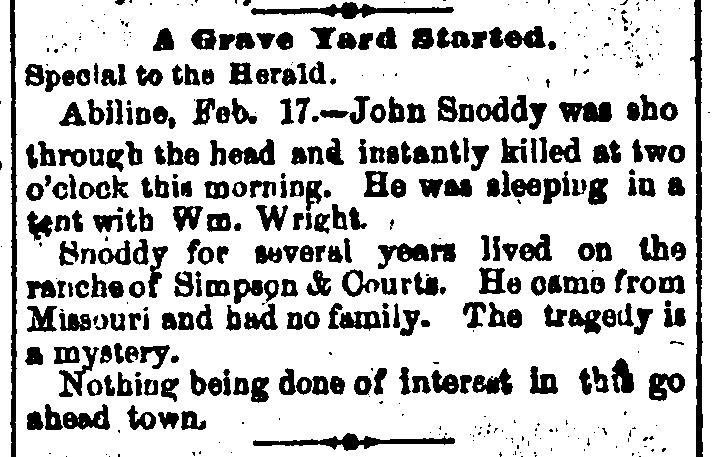 Snoddy Dallas_Weekly_Herald_1881-02-24_4