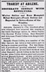 Galveston Daily News January 9 1884
