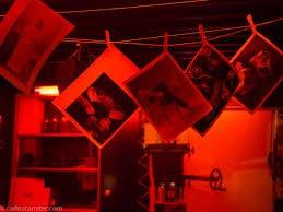 revelador de fotos luz roja