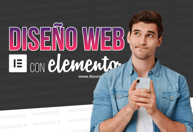 Diseño web con elementor de Pablo del hierro