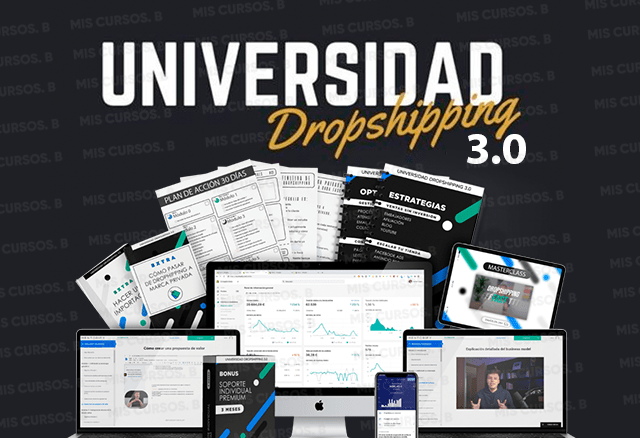 Universidad Dropshipping 3.0 de Adrián Sáenz