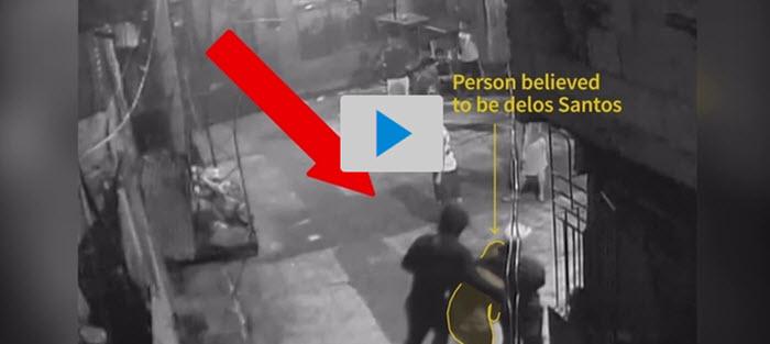 Filipijnen: beelden laten zien hoe agenten 17-jarige wegleiden om hem te doden