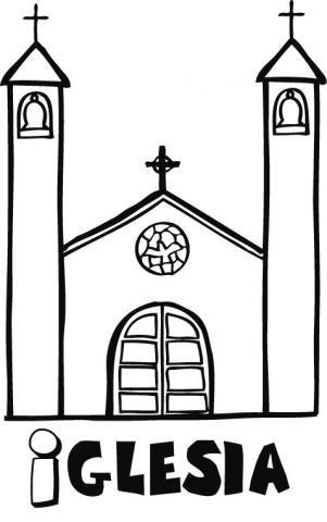 Dibujos de iglesias
