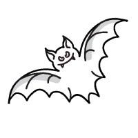 Dibujos de murcielagos | Dibujos