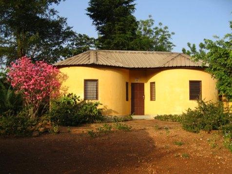 La chapelle de Bombouaka.