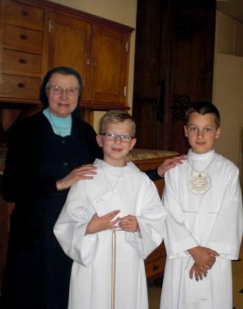 Première communion.