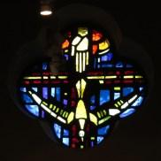 Vitrail de l'ancienne chapelle