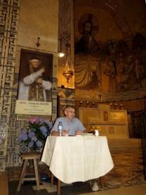 Guy Fournier, diacre permanent du diocèse de Séez parle du père Bazin.