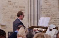 Thibaut Bitschené, organiste de la cathédrale de Sées