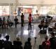 Foto de um workshop no Congresso dos Artistas