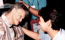 Cléria e nossa co-fundadora, Maria Paola do Cordeiro Imolado
