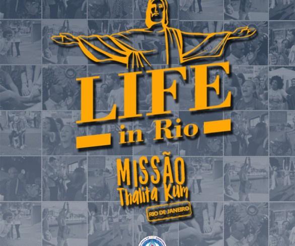 Banner da Missão Thalita Kum Life in Rio